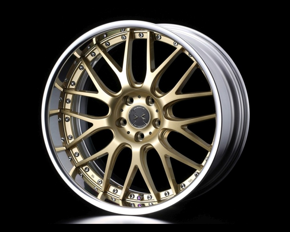 Weds 709M SL-Disk Wheel Maverick 18x8 5x112 27-57mm Reverse Rim