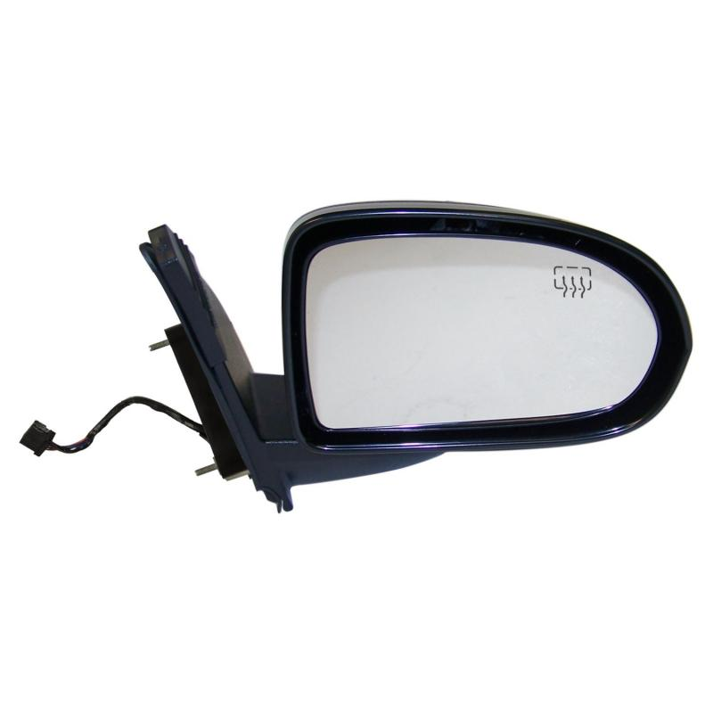 Crown Automotive 5115294AG Jeep Replacement Right Power, Power-Folding, Heated, Convex Mirror for 07-15 MK Patriot w/ RHD Jeep Compass Right 2007-2015