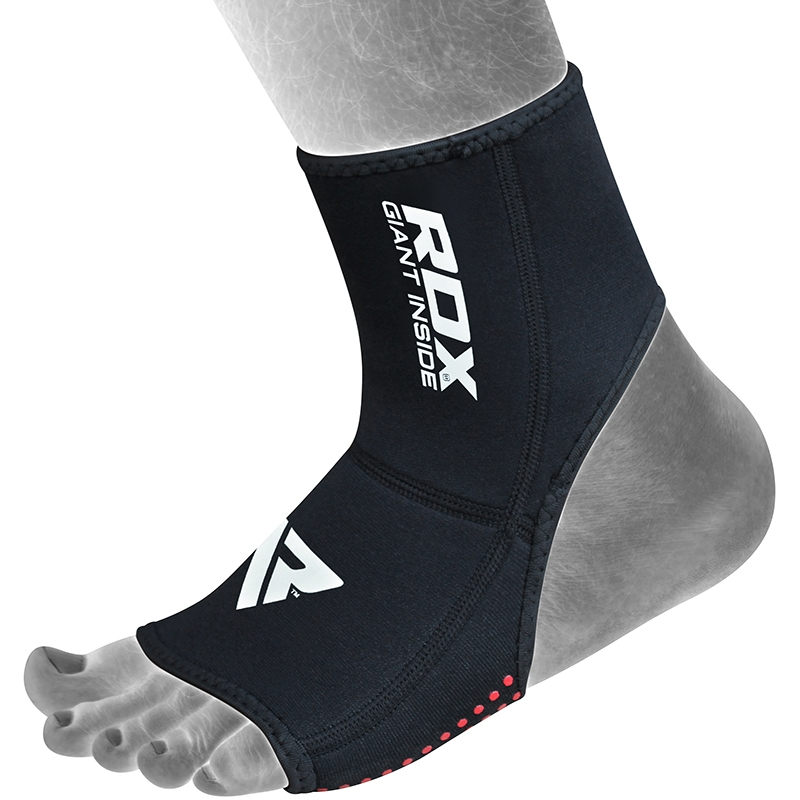 RDX A1 Right Anklet Support Compression Neoprene Medium Red/Black/White