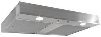 C2060PS1-TW-SS 60 C2000 Mesh Series Range Hood Insert with 1270 CFM Blower  Two 7 Round Ducts  Variable Controls  Aluminum Mesh Filters  LED