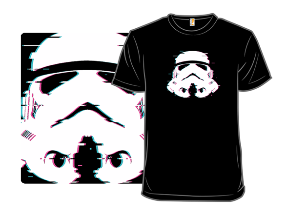 Glitch Trooper T Shirt