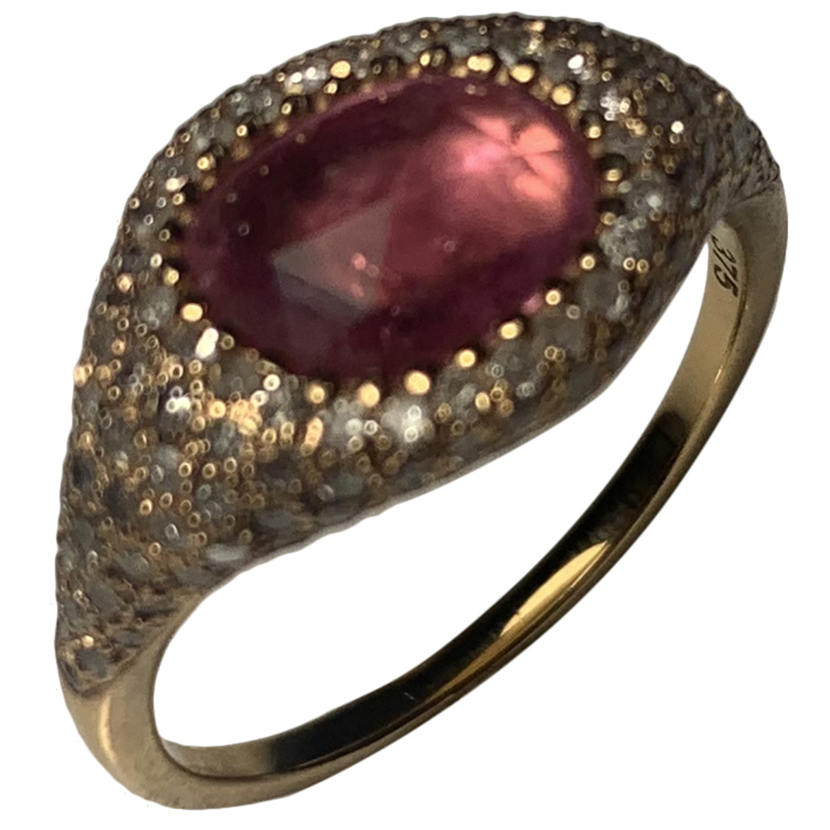 Unknown \N Ring in  Rosa Rosegold