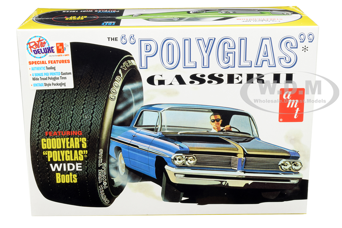 Skill 2 Model Kit 1962 Pontiac Catalina