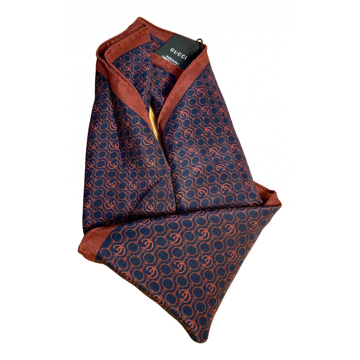 Gucci - Cheches.Echarpes   pour homme en soie - multicolore