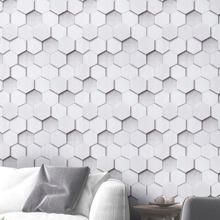 1sheet Hexagon Wall Sticker
