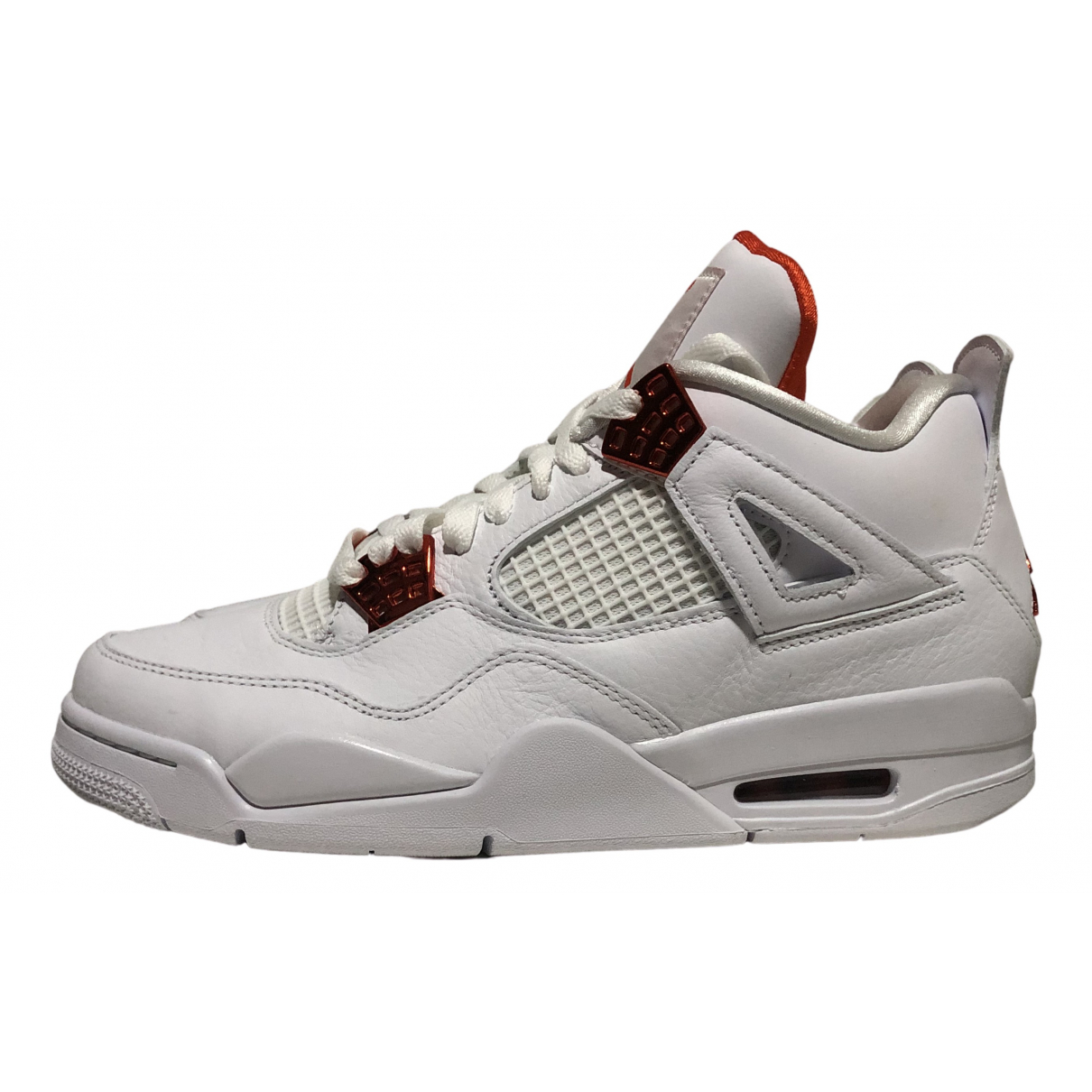 Jordan - Baskets Air Jordan 4 pour homme en cuir - orange