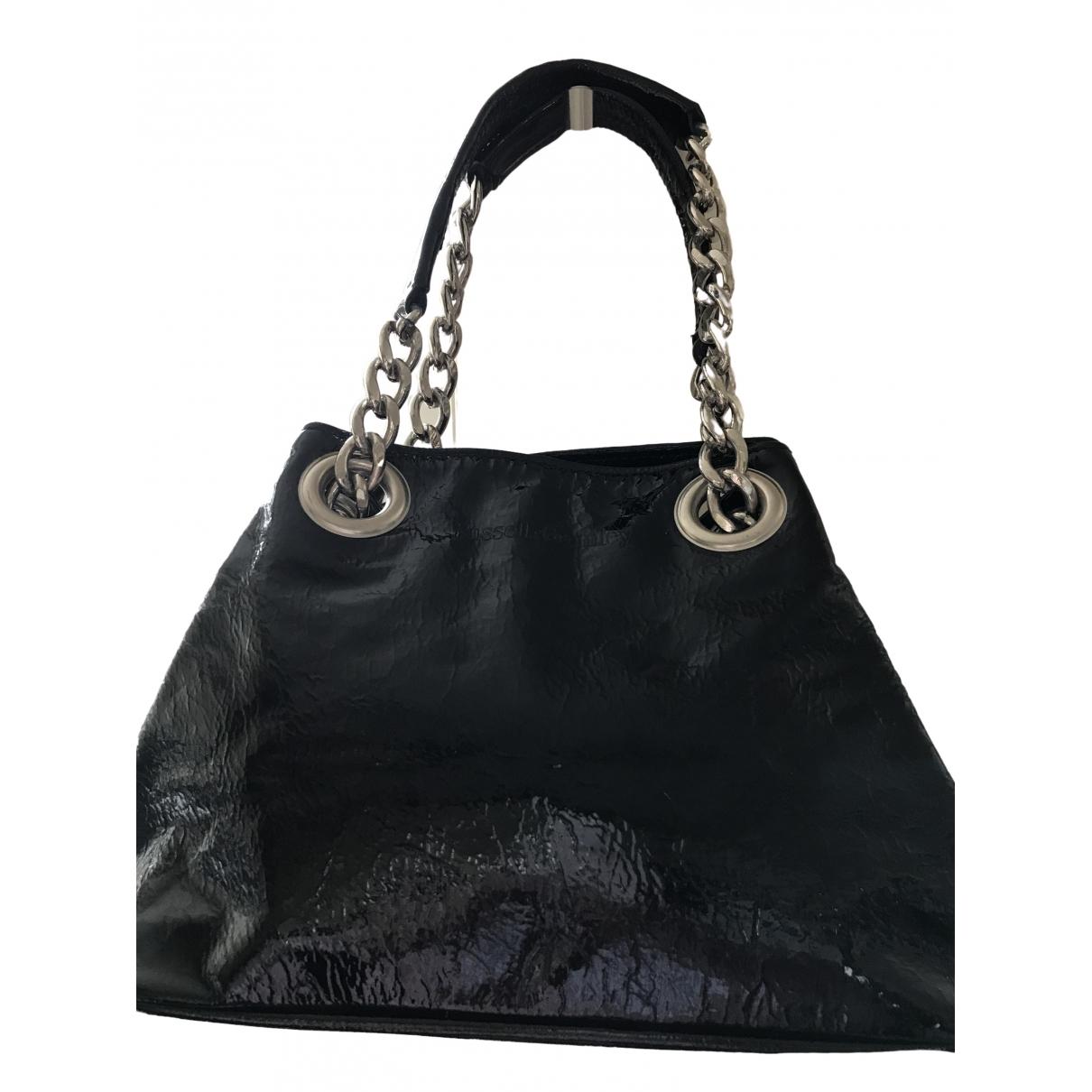 Russell & Bromley \N Handtasche in  Schwarz Leder