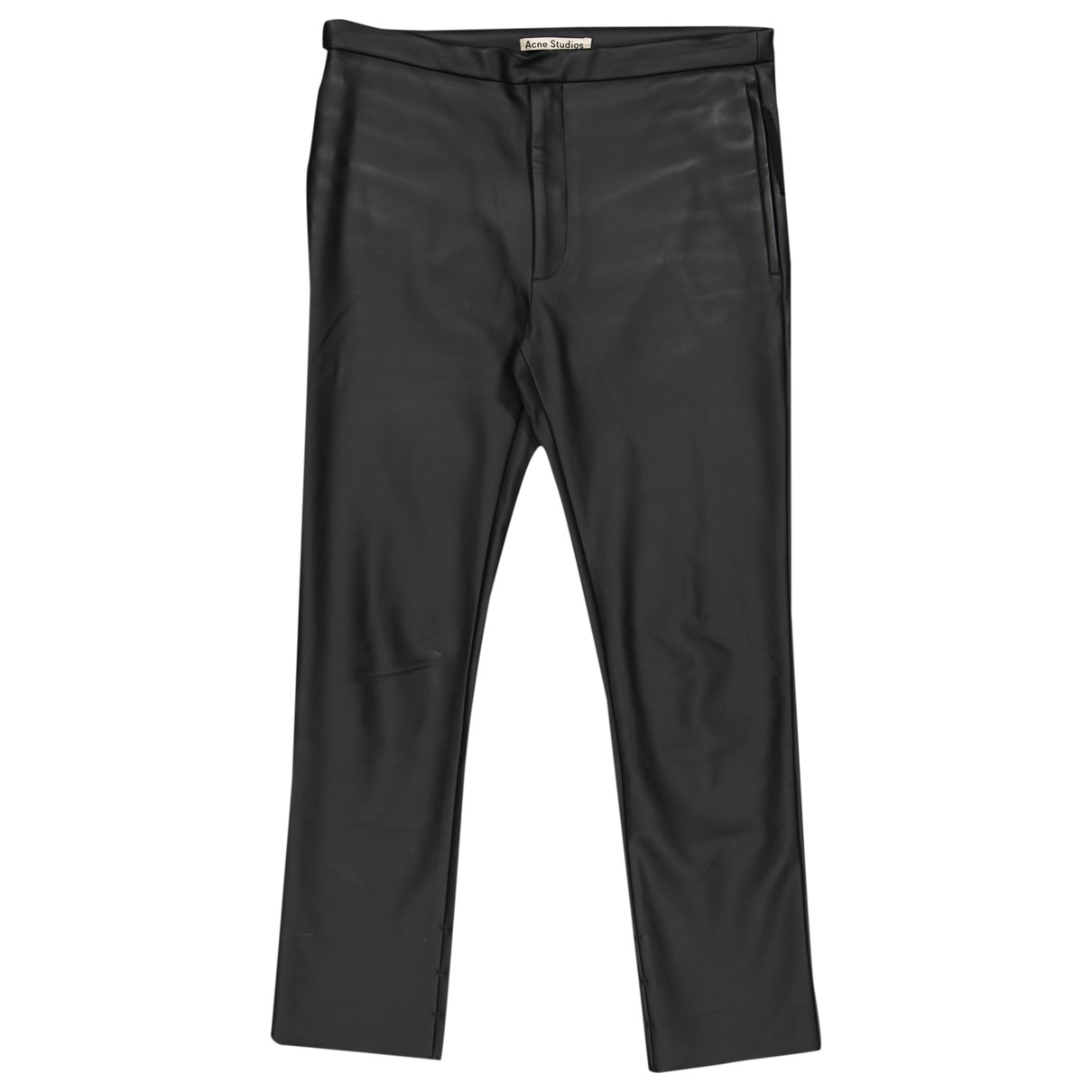 Acne Studios \N Black Trousers for Men 48 FR