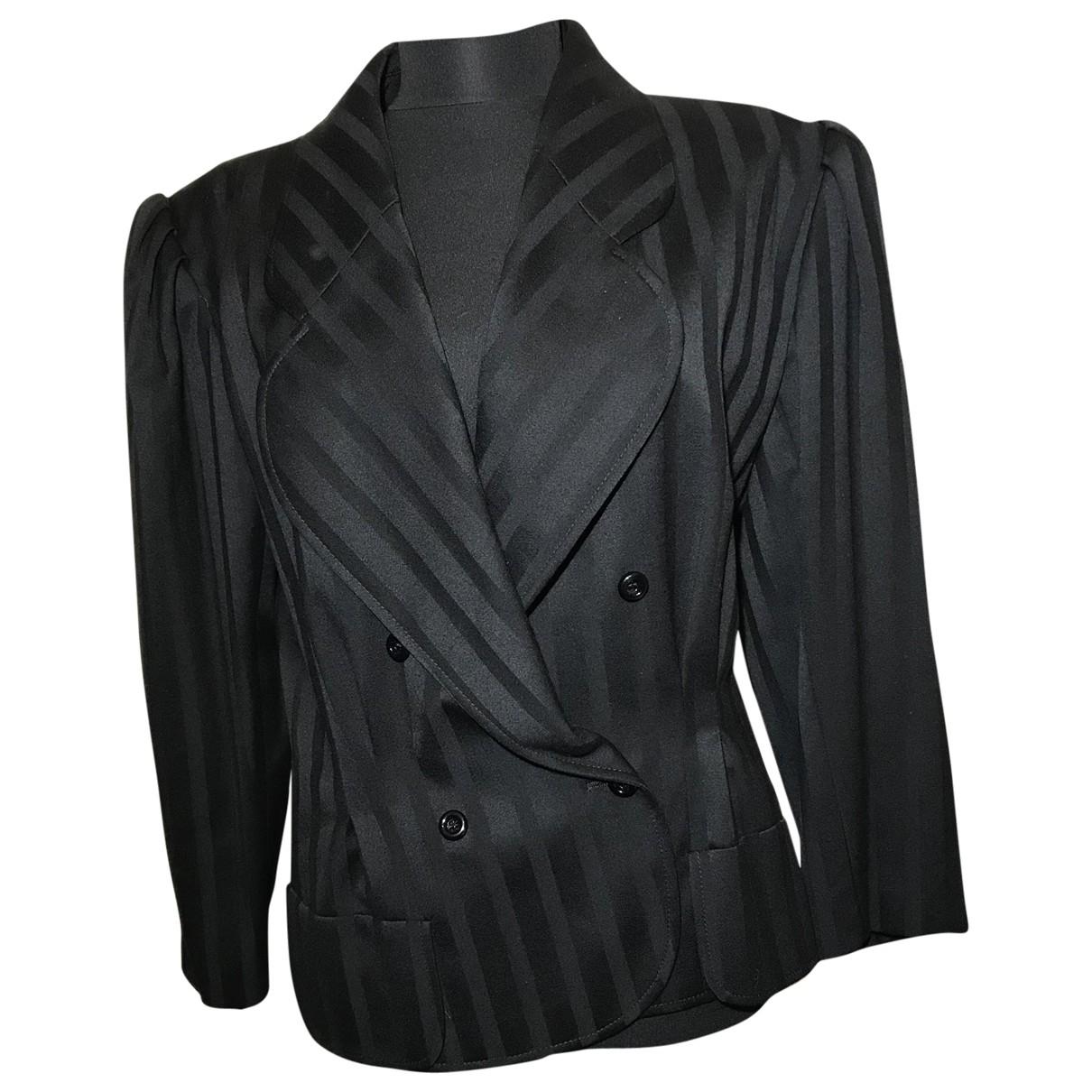 Emanuel Ungaro - Veste   pour femme en laine - noir