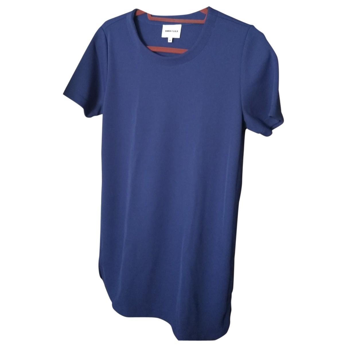 Bimba Y Lola \N Kleid in  Blau Synthetik