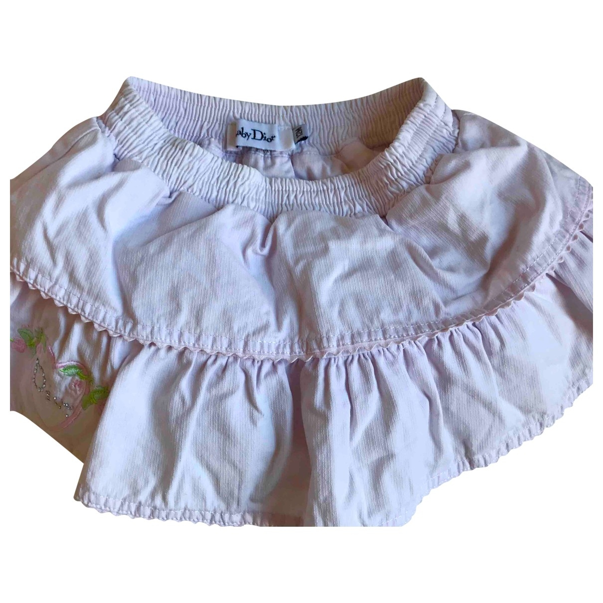 Dior \N Pink Cotton skirt for Kids 12 months - up to 74cm FR