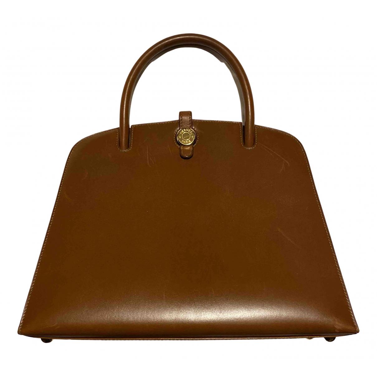 Hermès N Brown Leather handbag for Women N