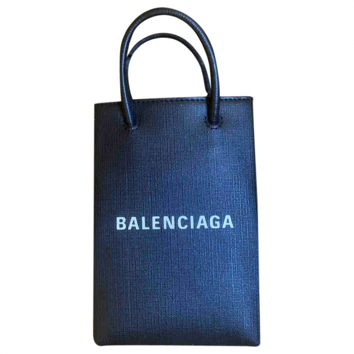 Balenciaga Eveyday Cabas Black Leather handbag for Women \N