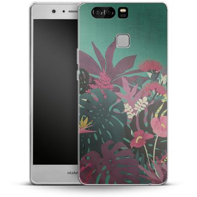 Huawei P9 Silikon Handyhuelle - Tropical Tendencies von Little Clyde