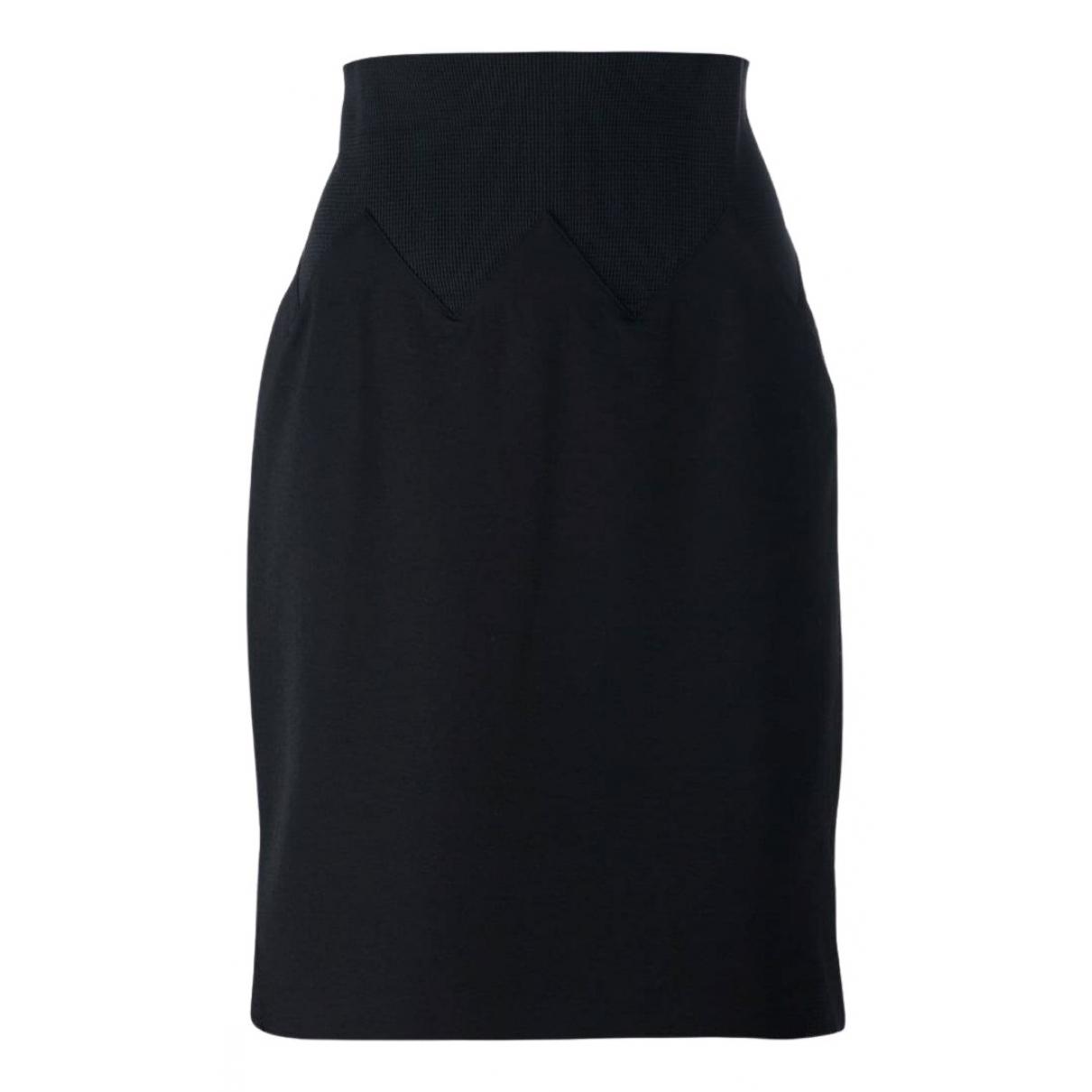 Jean Paul Gaultier N Black Wool skirt for Women 44 IT