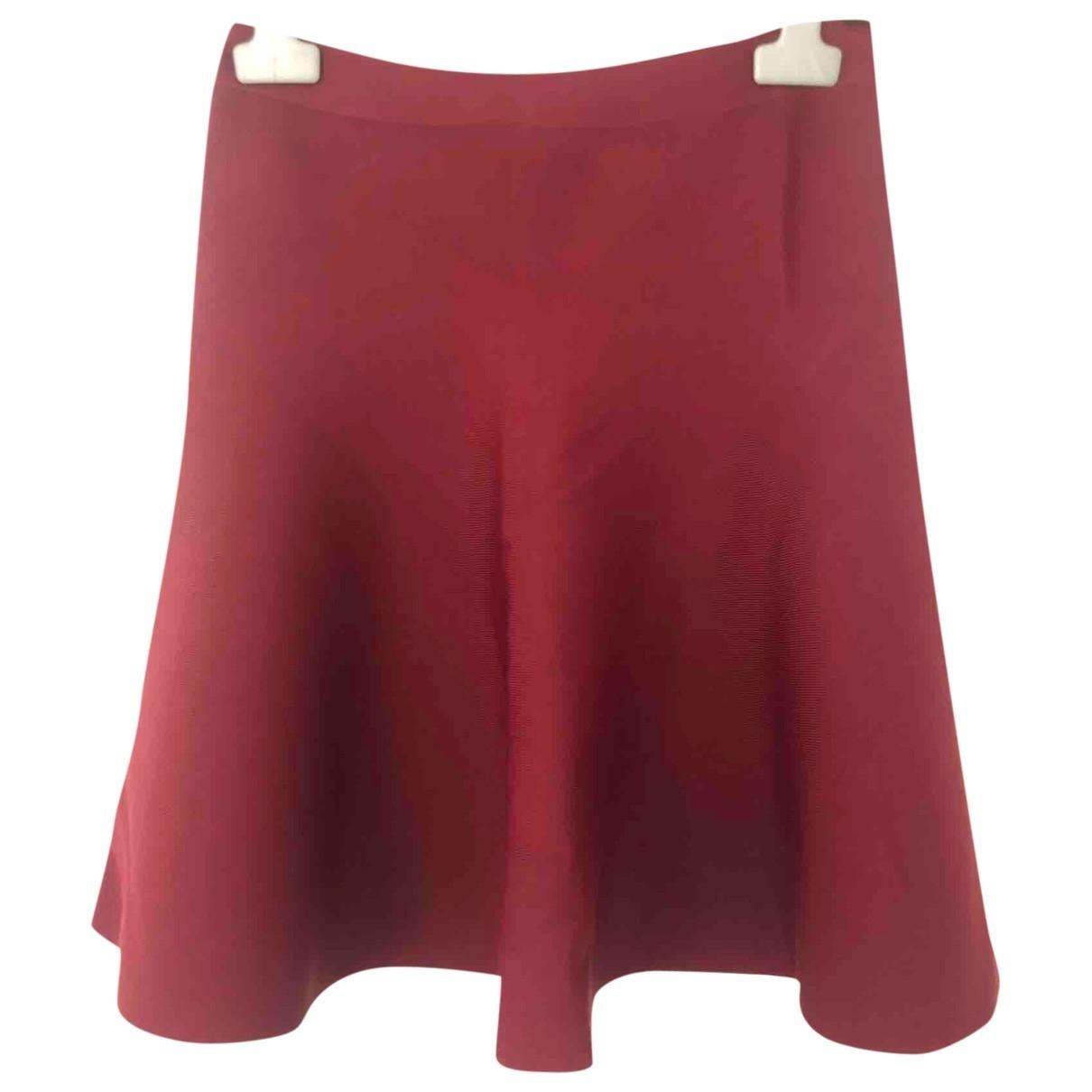 Bcbg Max Azria \N Burgundy skirt for Women M International