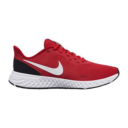 Nike Revolution 5 Mens Running Shoes, 9 1/2 Medium, Red