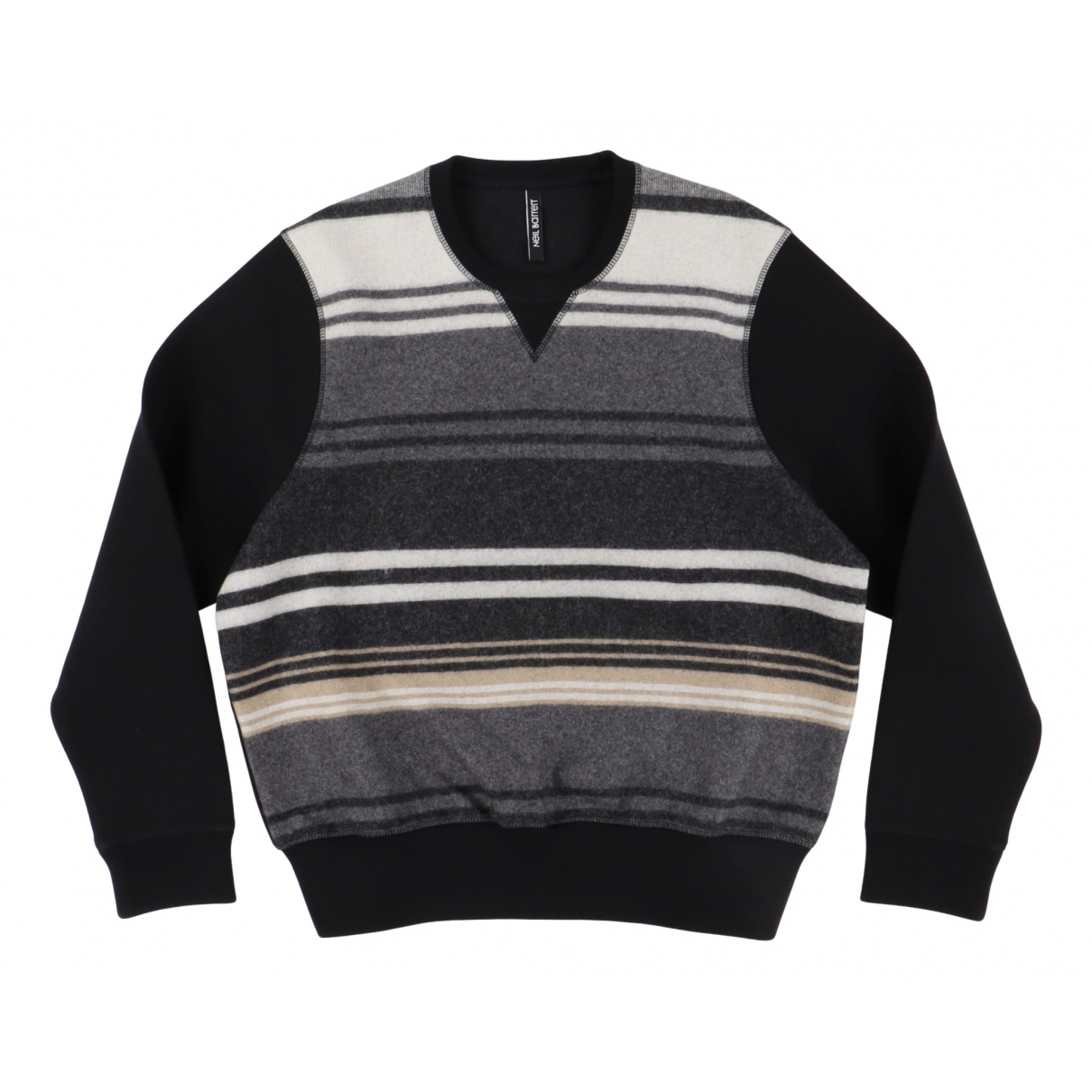 Neil Barrett \N Pullover.Westen.Sweatshirts  in  Schwarz Wolle
