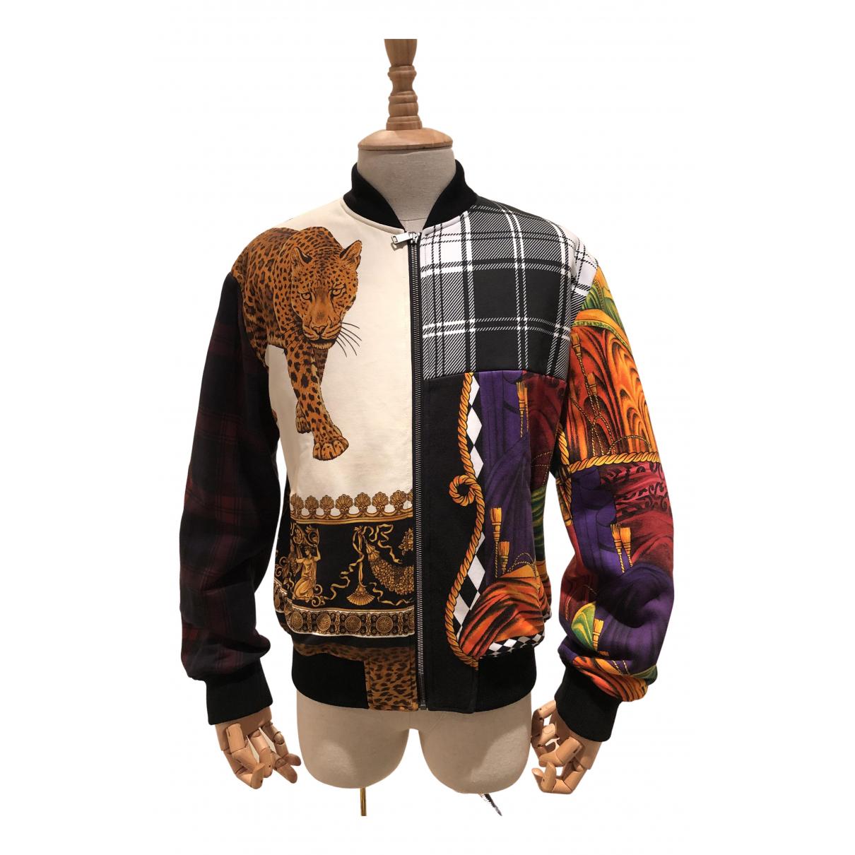 Versace \N Jacke in  Bunt Baumwolle