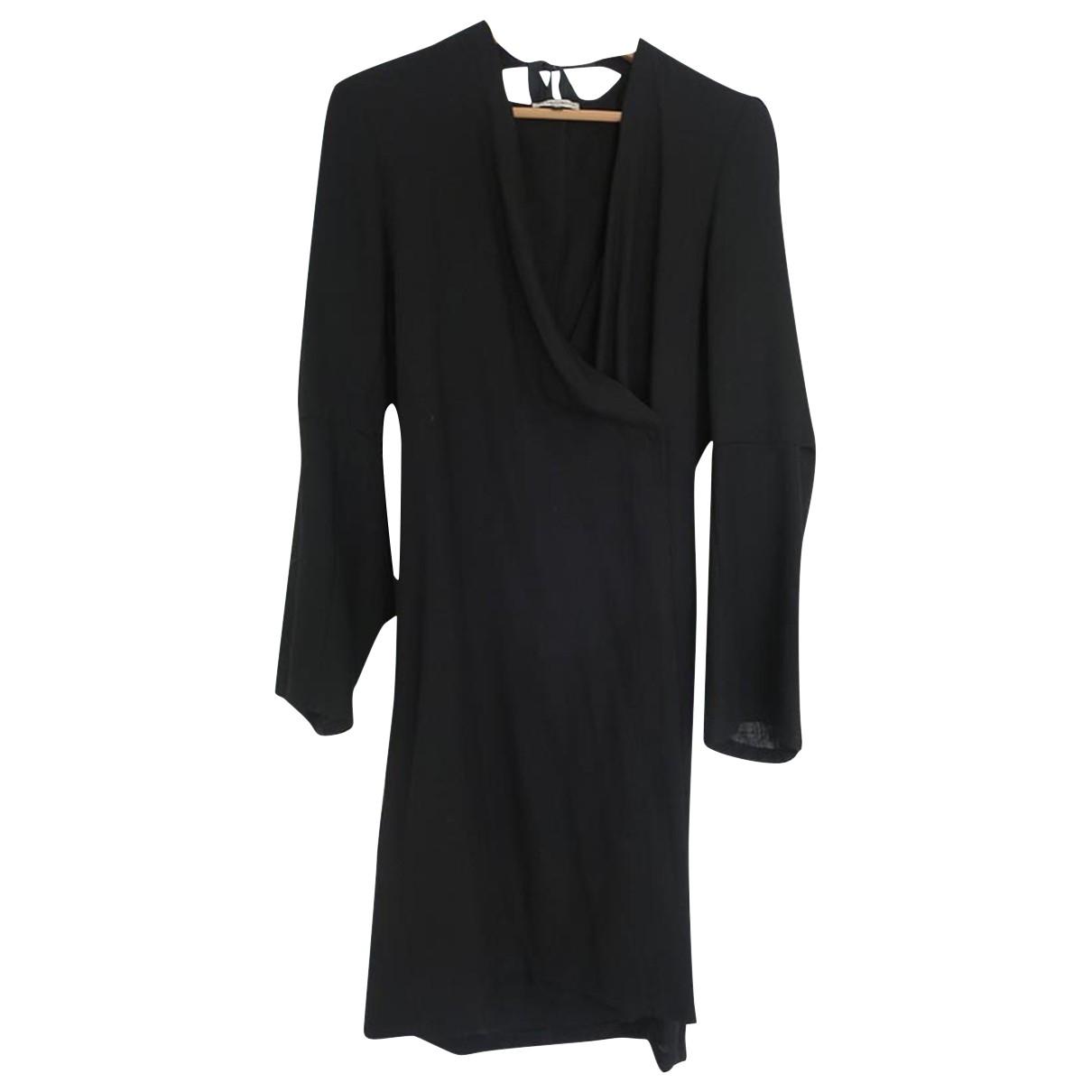 Ann Demeulemeester \N Black Wool dress for Women 36 FR