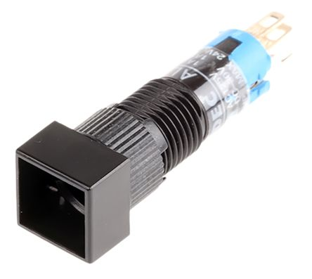 Idec Single Pole Double Throw (SPDT) Momentary Miniature Push Button Switch, IP40, 8 (Dia.)mm, Panel Mount, 250V