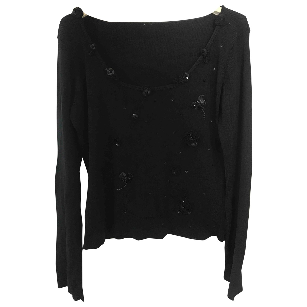 Non Signé / Unsigned \N Black  top for Women M International
