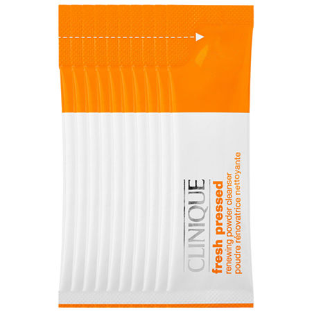 CLINIQUE Fresh Pressed Renewing Powder Cleanser with Pure Vitamin C, One Size , No Color Family