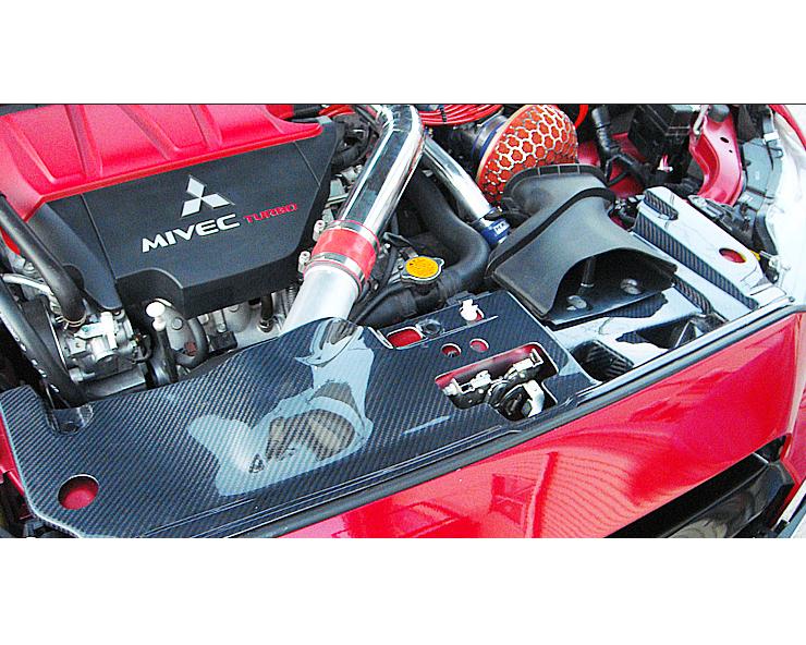Varis VAMI-135 Full Rear Carbon Diffuser Mitsubishi EVO X CZ4A 08-15