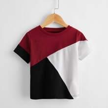 T-Shirt mit Bahnendesign