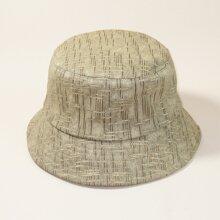 Men Simple Bucket Hat