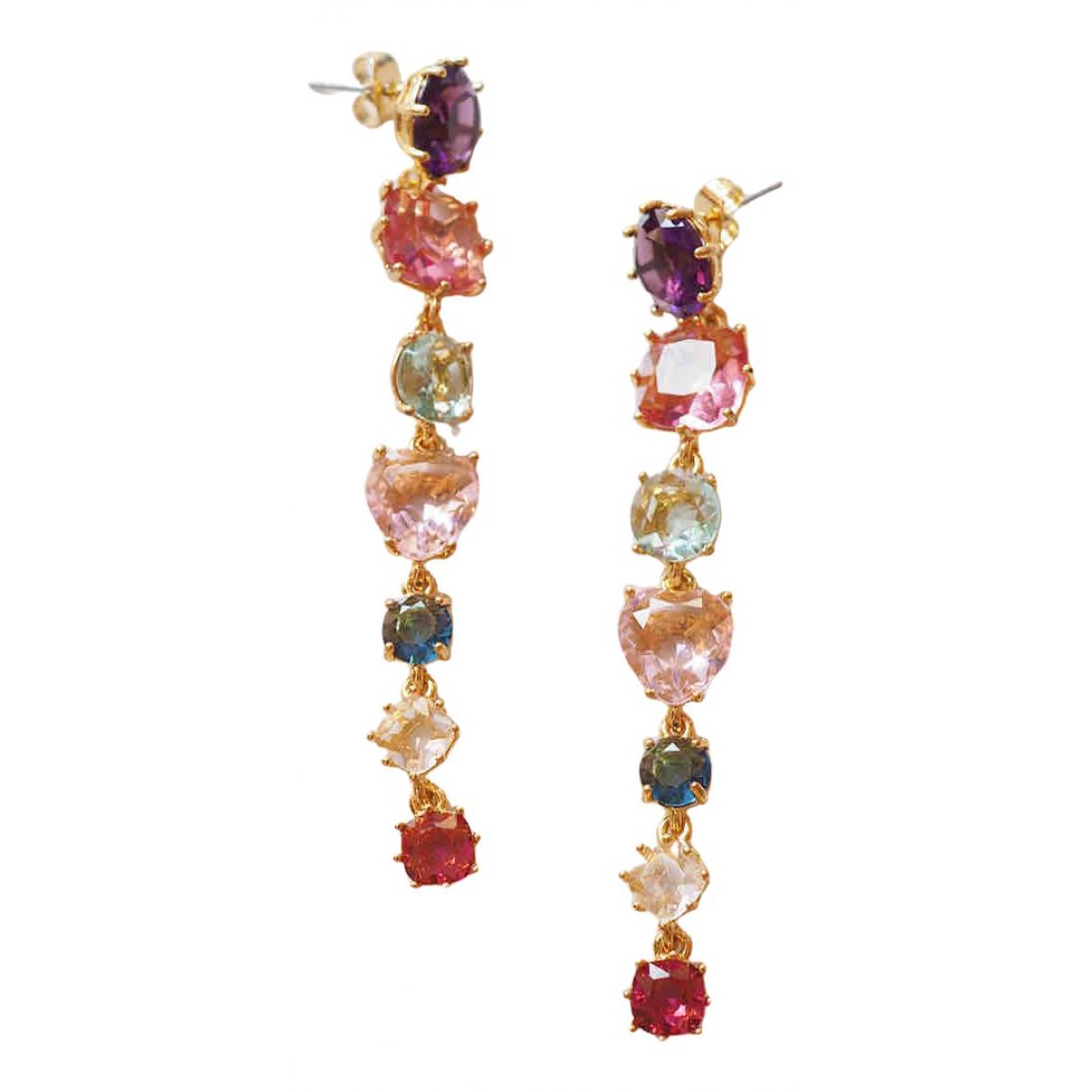 Les Nereides - Boucles doreilles   pour femme en metal - multicolore