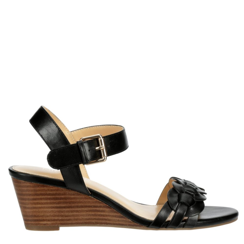 Michael By Shannon Womens Spark Wedge Sandal Heel Sandals