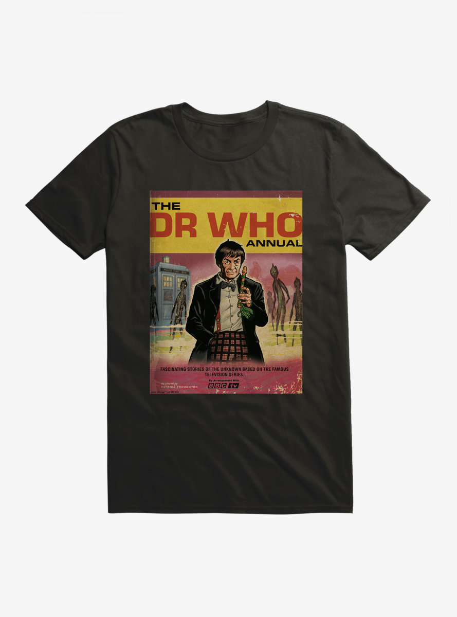 Doctor Who Annual Second Doctor T-Shirt