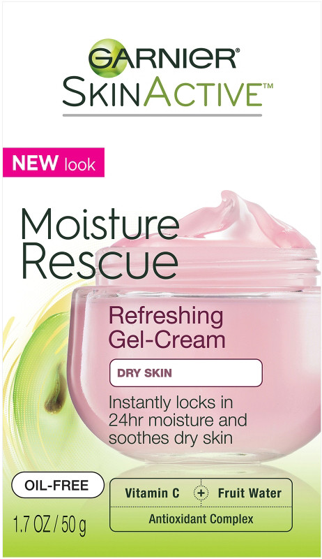 SkinActive Moisture Rescue Refreshing Gel-Cream For Dry Skin
