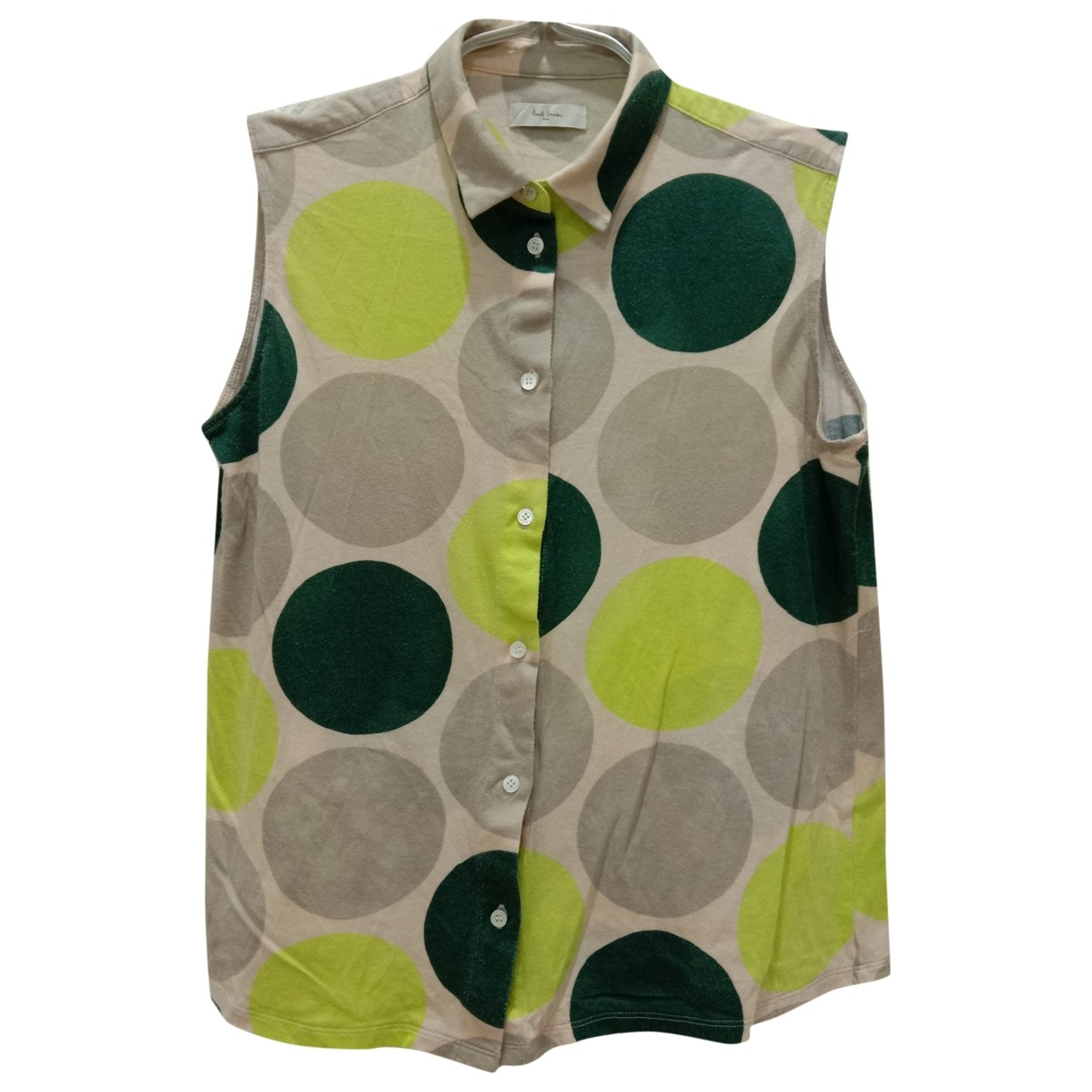 Paul Smith \N Green Cotton  top for Women 38 FR