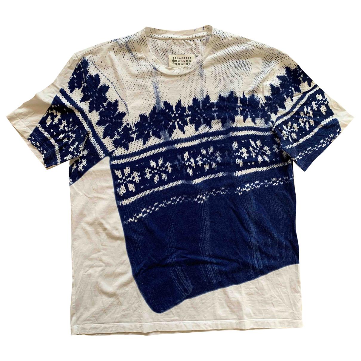 Maison Martin Margiela N White Cotton T-shirts for Men S International