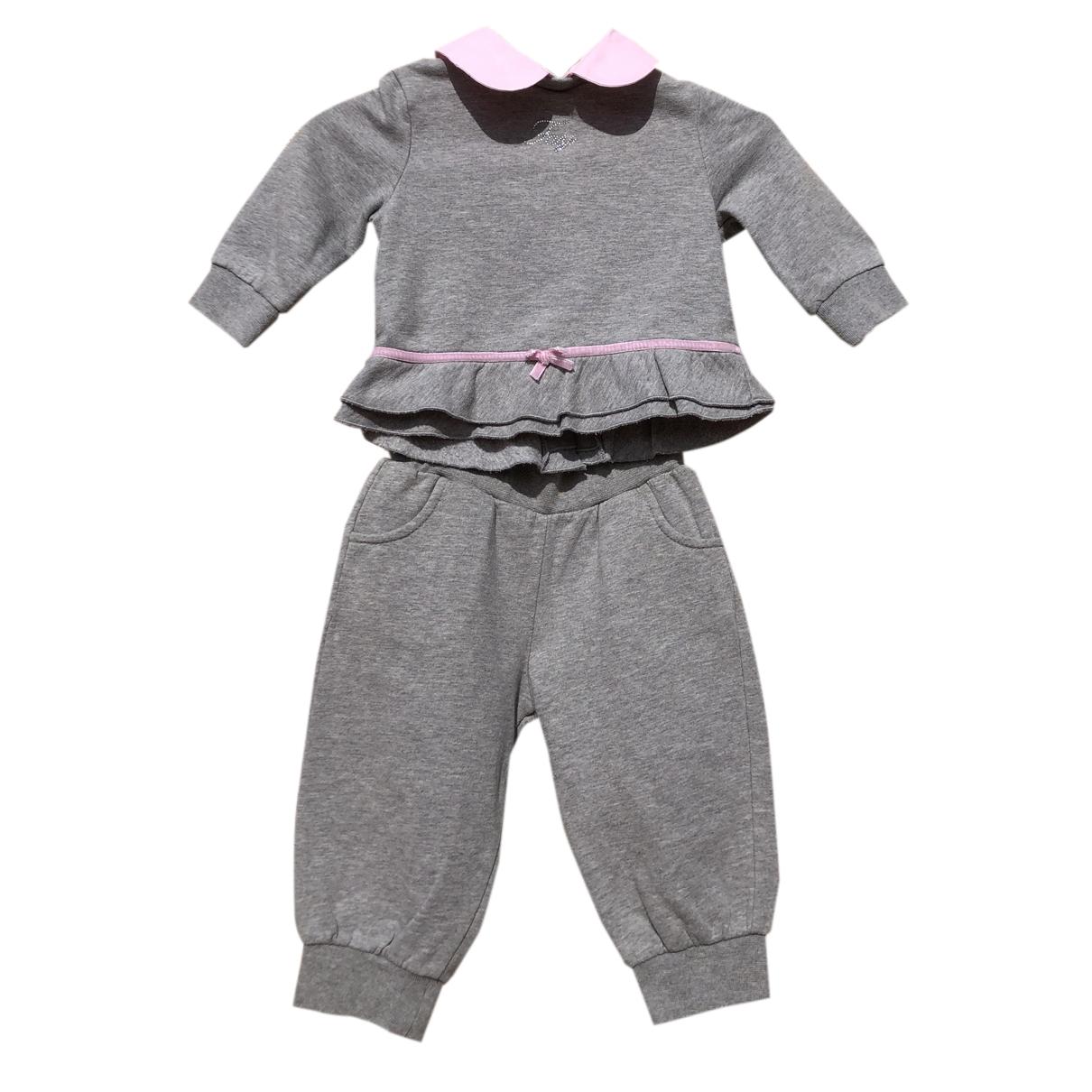 Fay - Les ensembles   pour enfant en coton - gris