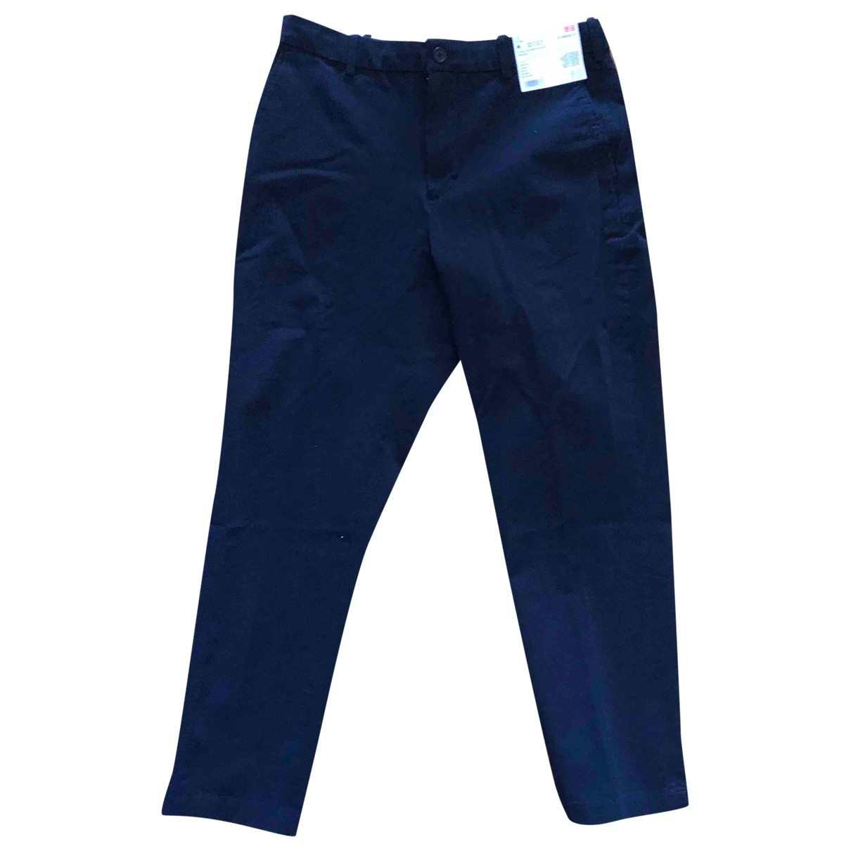 Uniqlo \N Blue Cotton Trousers for Men M International