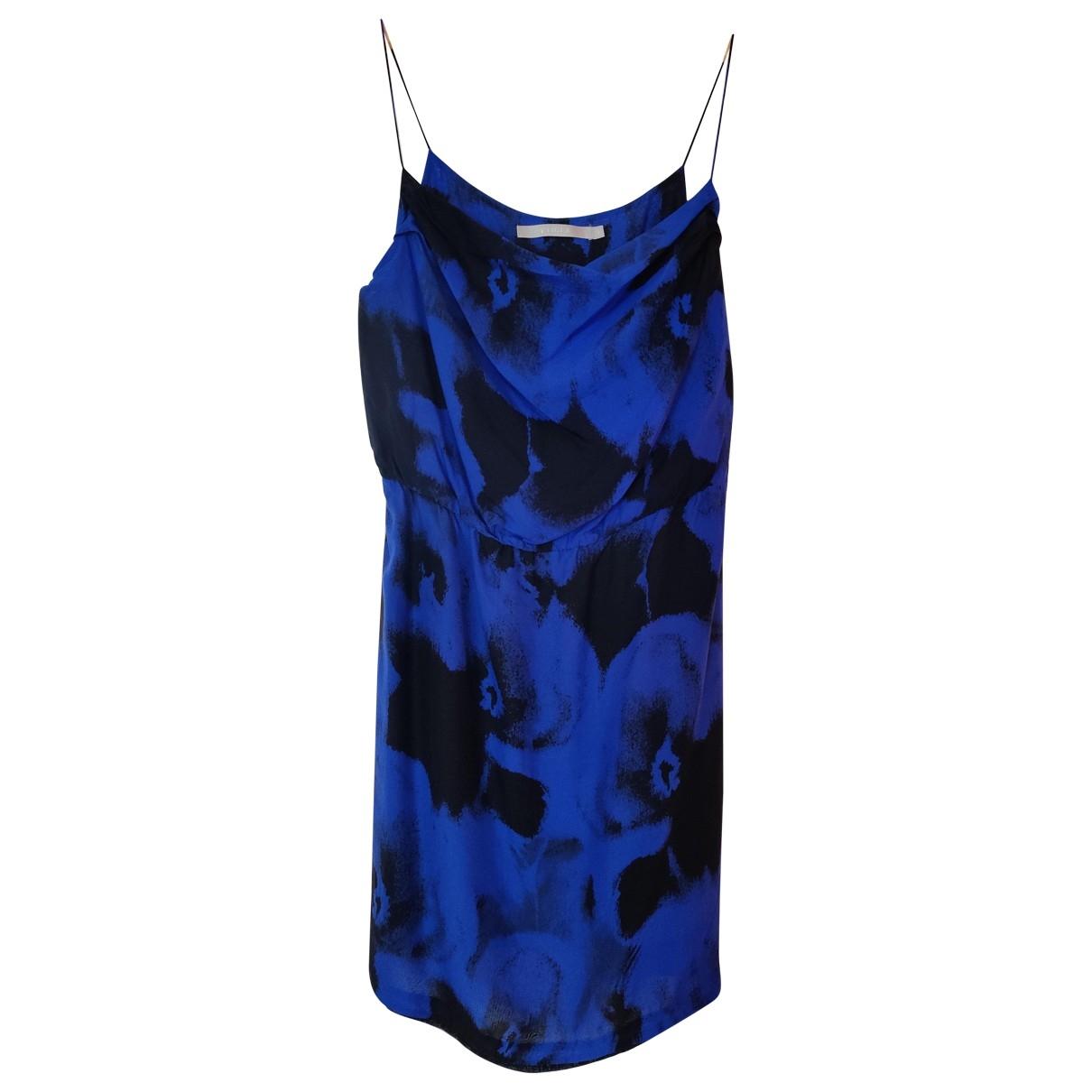 Tiger Of Sweden \N Kleid in  Blau Seide
