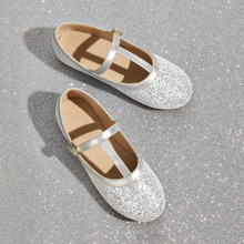 Toddler Girls T-strap Flats
