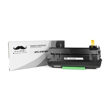 Lexmark 51B1000 Compatible Black Toner Cartridge - Moustache®