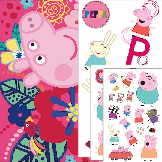 Peppa Pig™ Fun ct With Tattoos By Entertainment One | Michaels®