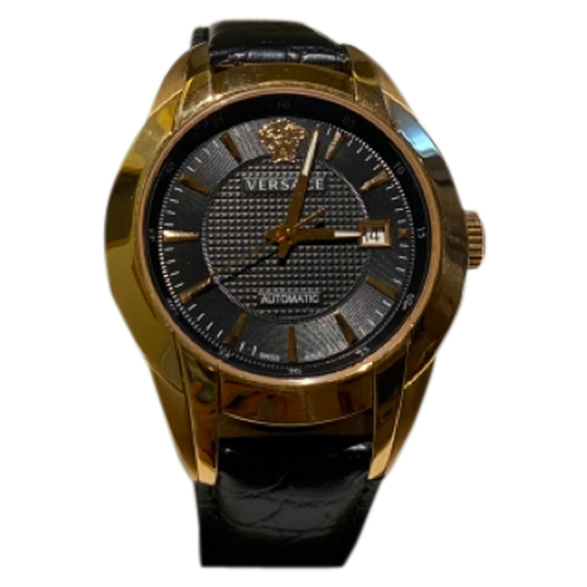Versace \N Black Gold plated watch for Men \N