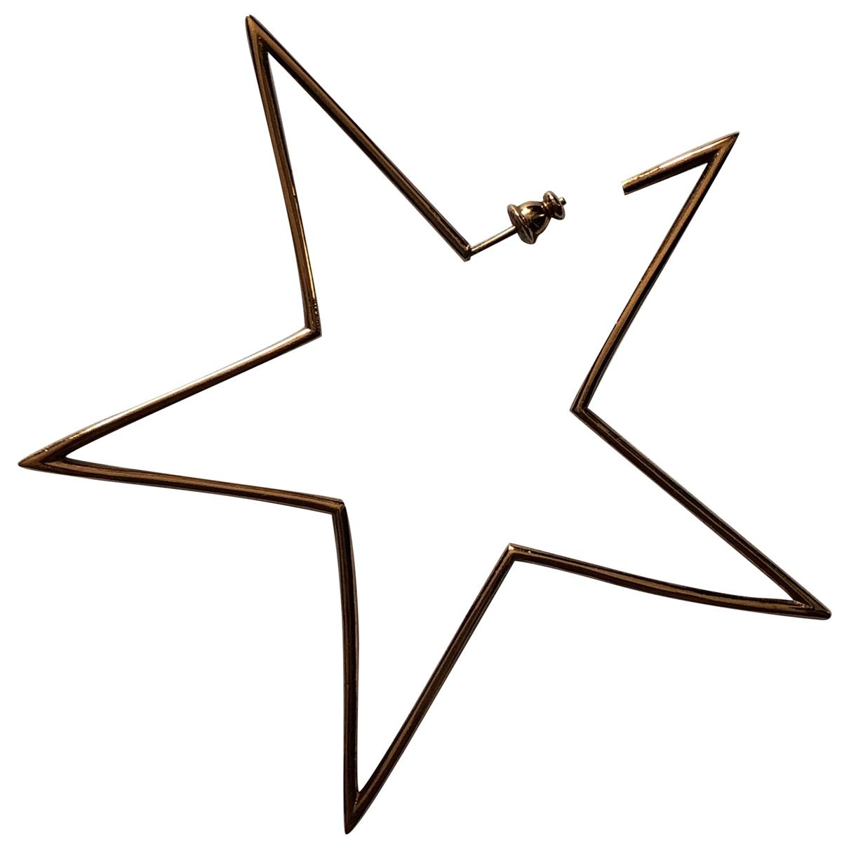 Stella Mccartney - Boucles doreilles   pour femme en metal - dore