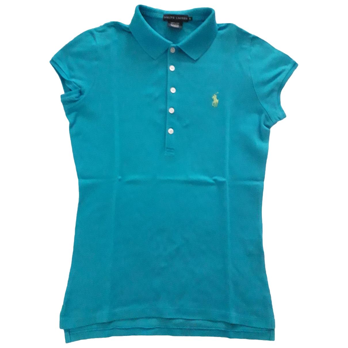Ralph Lauren \N Turquoise Cotton Knitwear for Women M International