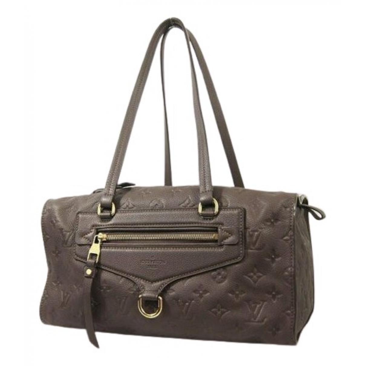 Louis Vuitton Stresa Handtasche in  Braun Leder