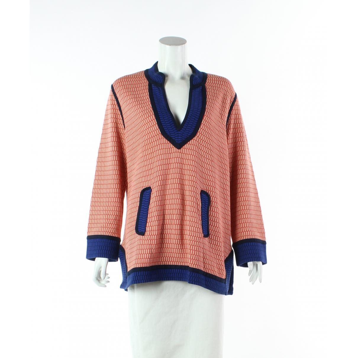 Tory Burch - Top   pour femme en coton - multicolore