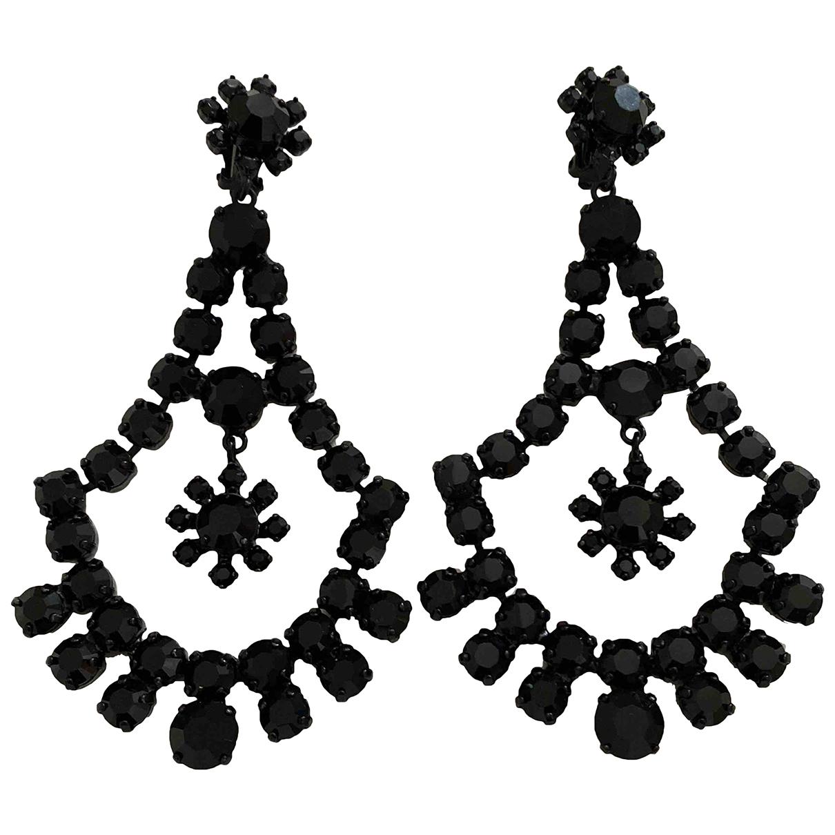 Yves Saint Laurent - Boucles doreilles   pour femme en autre - noir