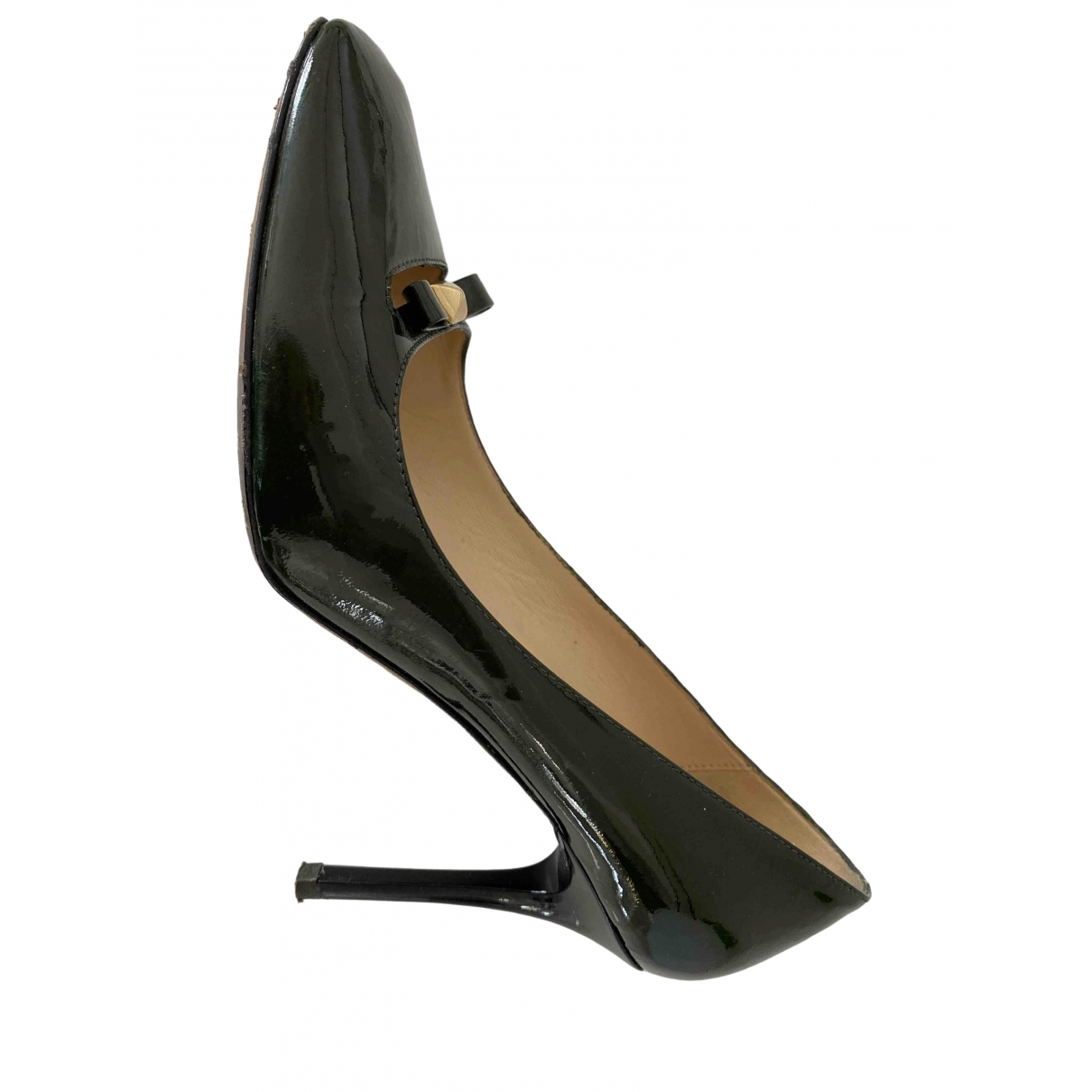 Kate Spade \N Green Patent leather Heels for Women 8.5 US