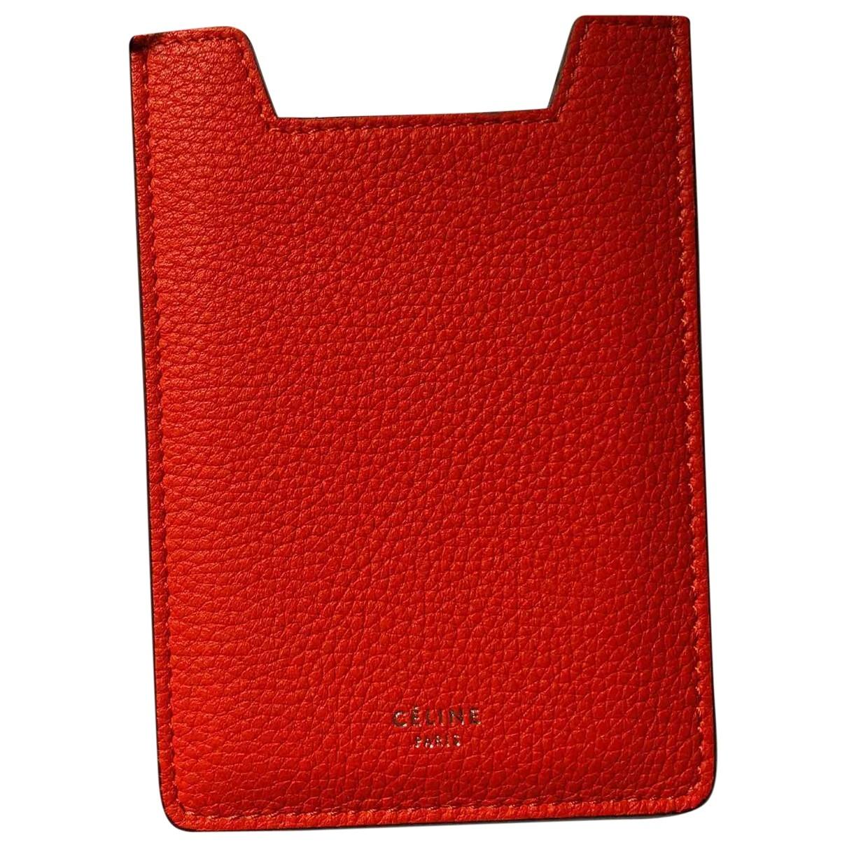 Celine - Accessoires   pour lifestyle en cuir - rouge